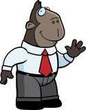 Ape Businessman Royalty Free Stock Photos