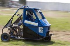 Ape car racing Royalty Free Stock Photos