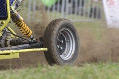 Ape car racing Stock Image