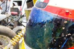 Ape car racing Royalty Free Stock Photography