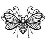 Ape dell'insetto Immagini Stock