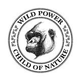 Ape head logo in black and white. Stock Image