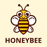 ape sveglia con testo Fotografia Stock