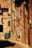 Ape in Urbino Street Stock Image