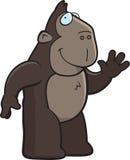 Ape Waving Royalty Free Stock Photo