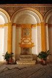 Apeadero, Alcazar-Palast in Sevilla, Andalusien, Spanien Stockfotos