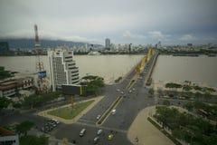 APEC 2017 DA Nang Βιετνάμ γεφυρών δράκων Στοκ φωτογραφία με δικαίωμα ελεύθερης χρήσης