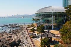 apec-Haus in Busan lizenzfreie stockfotos