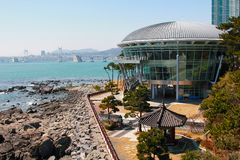 Apec house in busan Royalty Free Stock Photos