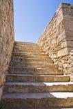 Apedreje escadas Fotografia de Stock Royalty Free