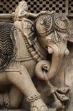 Apedreje o elefante Foto de Stock