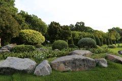 Apedreje o jardim Foto de Stock Royalty Free