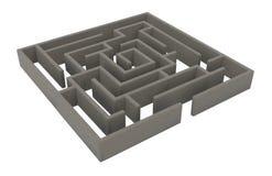 Apedreje o labirinto ilustração royalty free