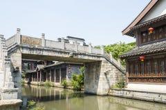 Apedreje a ponte Fotos de Stock Royalty Free