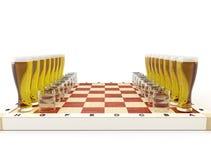 Apego de alcohol Imágenes de archivo libres de regalías