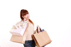 Apego de las compras Imagen de archivo libre de regalías