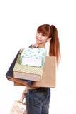 Apego de las compras Fotografía de archivo libre de regalías