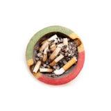 Apego del cigarrillo Imagen de archivo libre de regalías