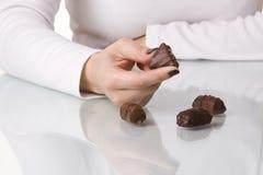 Apego do chocolate Imagem de Stock Royalty Free