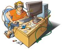 Apego do computador Fotografia de Stock