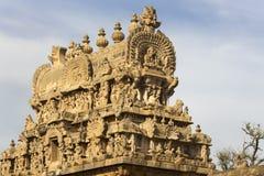 Apeks Gopuram nad wejściową bramą Obraz Stock
