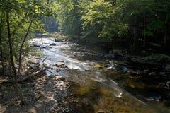 Apelando, río Sunlit foto de archivo libre de regalías
