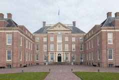 Apeldoorn, Holland, March 6, 2016: Front view of the royal palac Stock Image