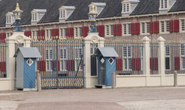Apeldoorn, Holland, March 6, 2016: Front view of the royal palace Het Loo stock photography