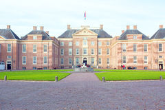 APELDOORN, NETHERLANDS -November 4, 2015: front of Het Loo Palac Stock Photos
