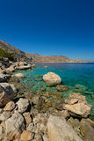 Apella beach, karpathos Royalty Free Stock Image
