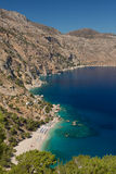 Apella beach, karpathos Stock Photos