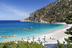 Apella beach on Karpathos island, Greece Royalty Free Stock Images