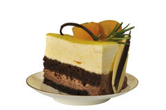 Apelmácese con la fruta Foto de archivo libre de regalías
