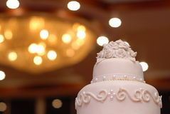 apelmácese en día de boda en fondo de la luz del bokeh Imágenes de archivo libres de regalías