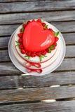 Apelmácese en la forma de corazón Foto de archivo libre de regalías