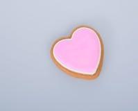 apelmace la decoración o la decoración de la torta de la forma del corazón en un fondo Foto de archivo libre de regalías