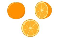 Apelsin royaltyfri illustrationer