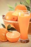 Apelsin fruktsaft-filtrerad Images† Royaltyfria Foton