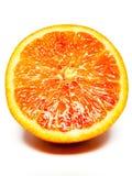 Apelsin halva som ska plattas till Royaltyfri Fotografi