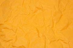 Apelsin knövlat papper Arkivbilder