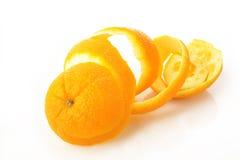 Apelsin - makro Royaltyfri Fotografi