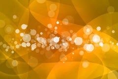 Apelsin med bokehabstrakt begreppbakgrund Royaltyfri Foto