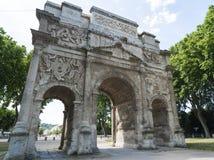 Apelsin Roman Arch arkivfoton