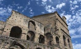 Apelsin Roman Theatre Arkivfoton