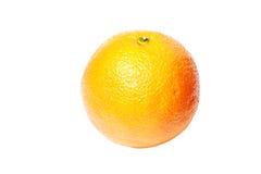 Apelsin som isoleras på vit Royaltyfri Fotografi