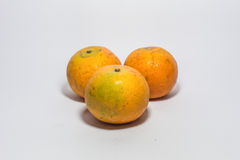 apelsin tre Royaltyfri Bild