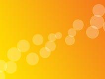 Apelsinen bubblar (Full-skärmen) Royaltyfri Bild