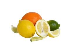 apelsiner för citrusfruktcitronlimefrukter Royaltyfri Bild