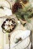 apelsiner för visare för citroner för data för sammansättning för kaffe för kryddnejlikor för jul för choklad för ängeläpplebolla royaltyfri foto