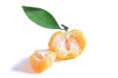 Apelsiner, i isolerat Arkivbild